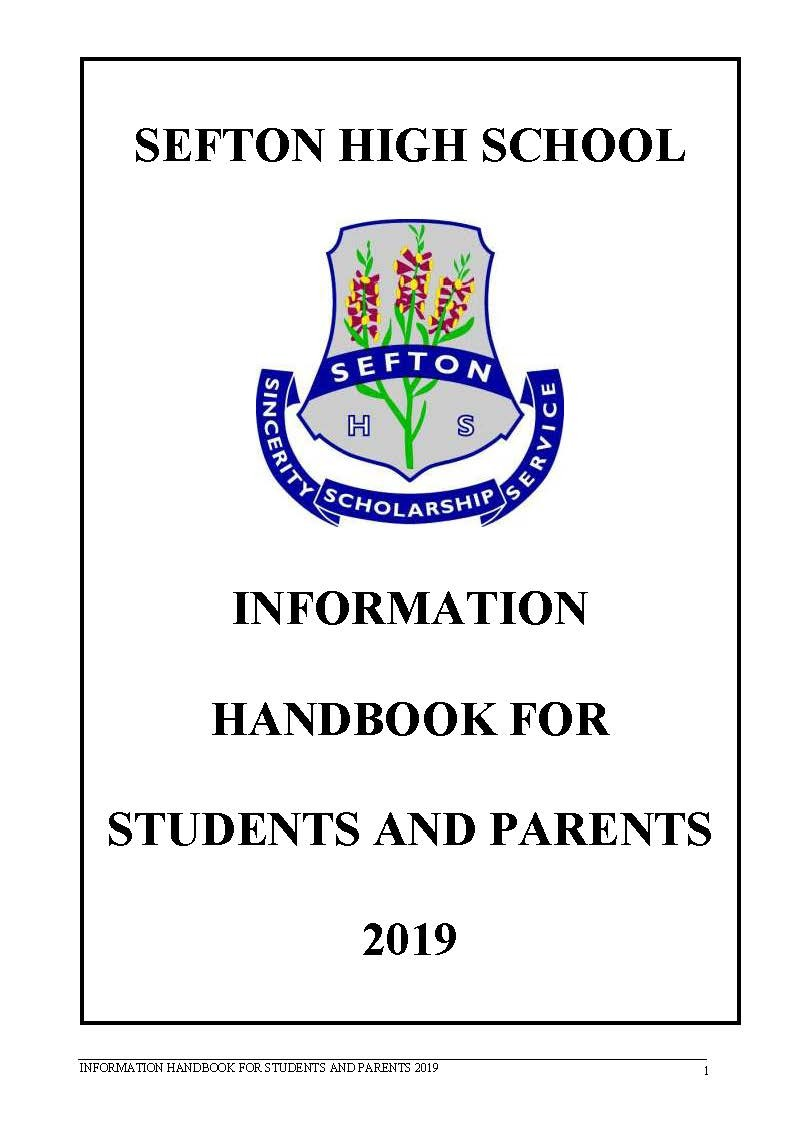 Front cover of a handbook